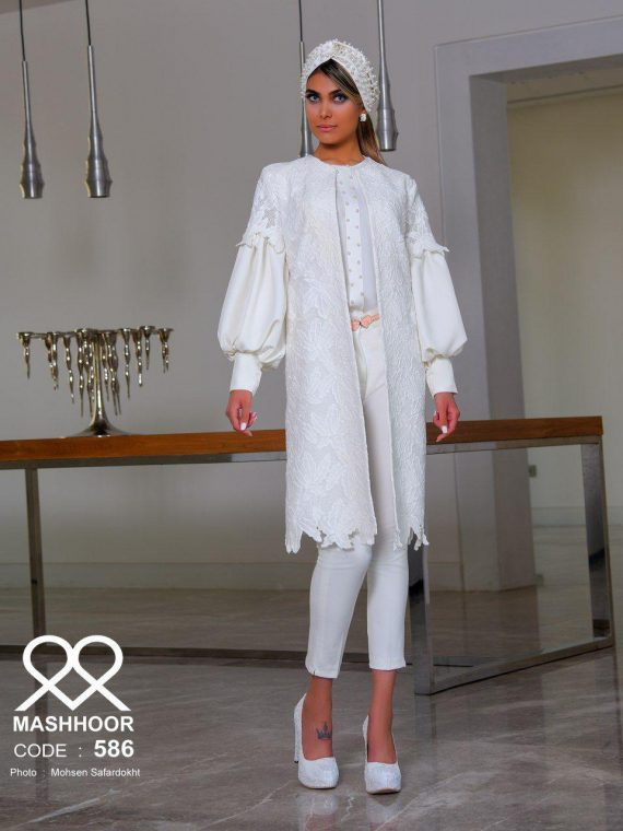 مدل مانتو عروس ملیسا