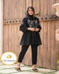 مدل نازلی سنتی مانتو1401